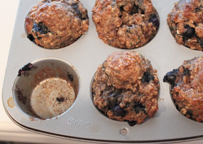 The Foodie Physician's Rise and Shine Blueberry Muffins | thebahamallama.wordpress.com