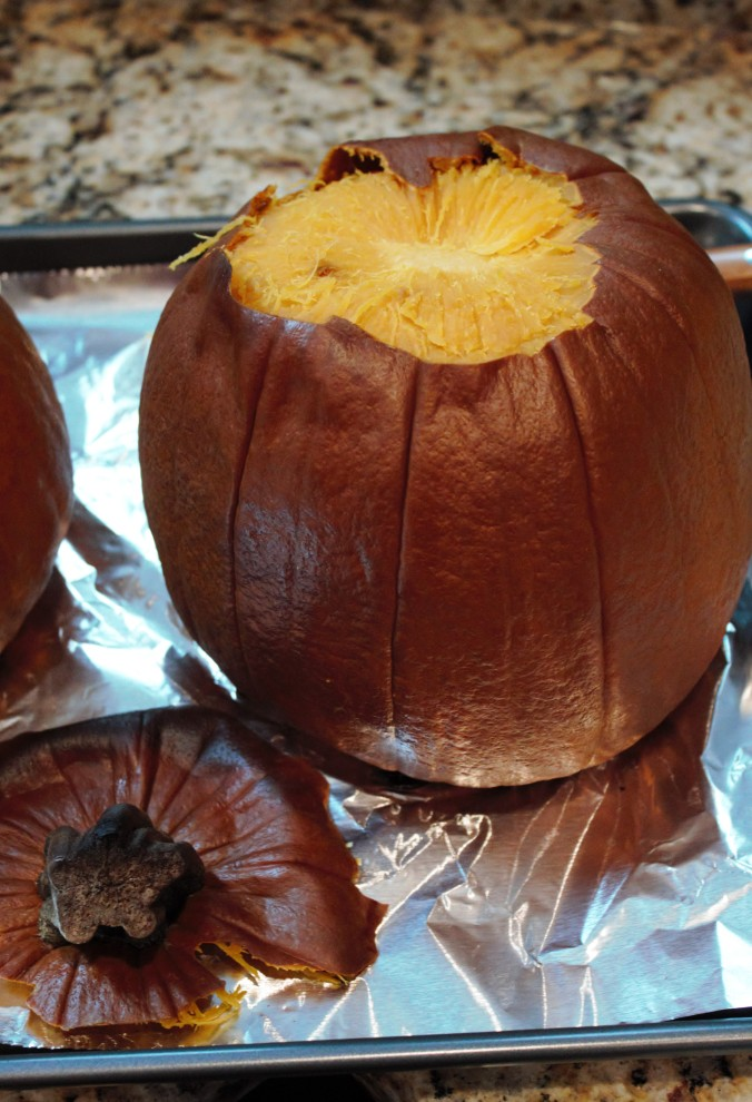 Quit buying canned pumpkin, making your own is so easy!