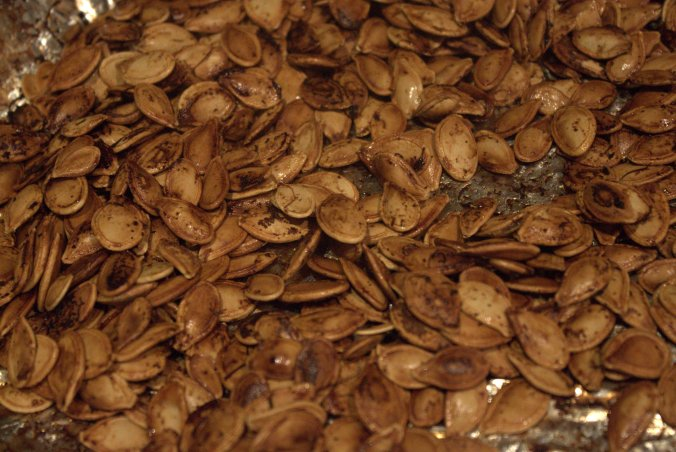Roasted Pumpkin Seeds | www.thebahamallama.wordpress.com