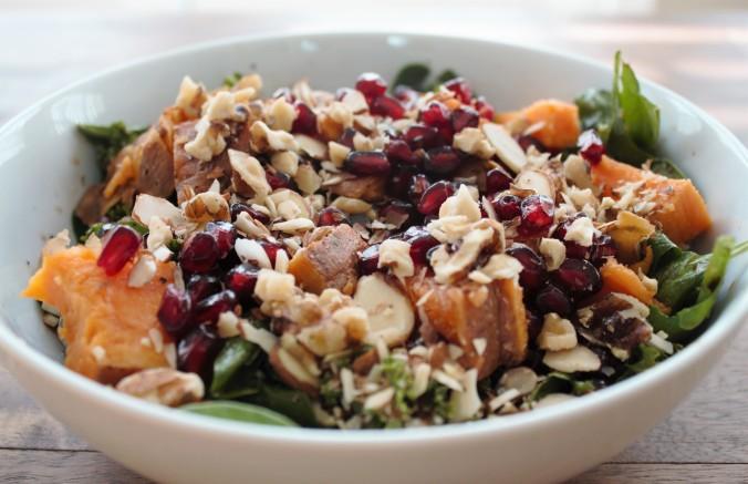 Winter Salad | www.thebahamallama.wordpress.com