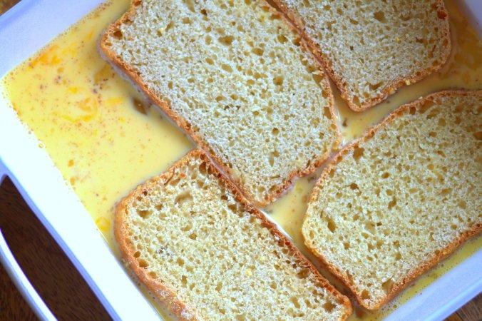 Eggnog French Toast | www.thebahamallama.com
