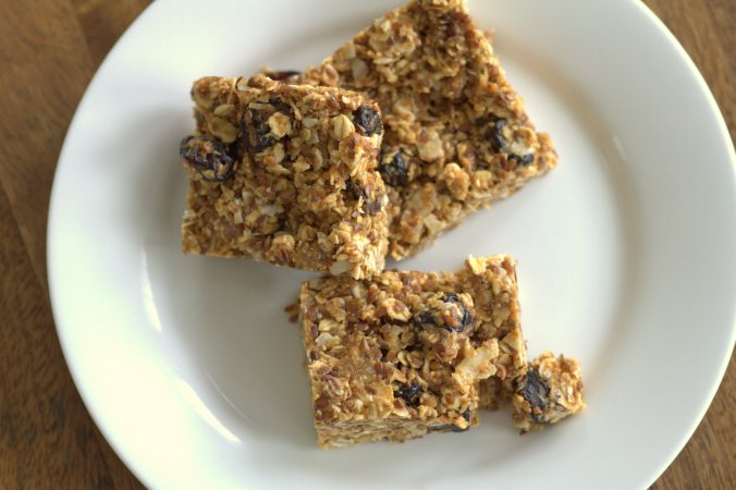 All natural peanut butter, honey, oat, and coconut make these vegan treats addicting little rewards.