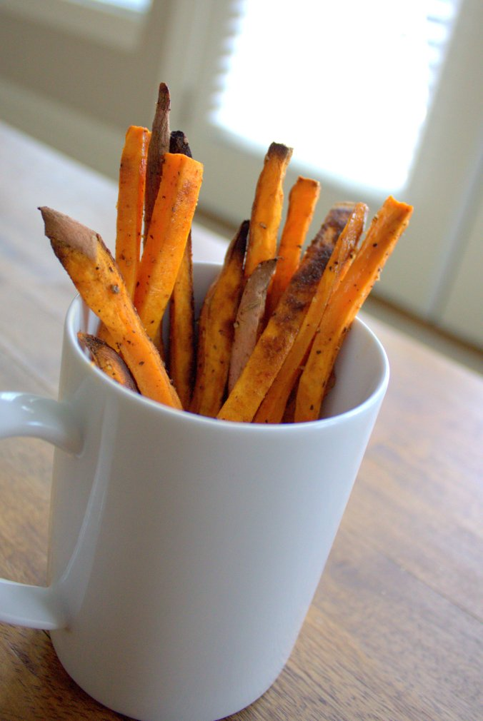 Sweet Potato Fries | www.thebahamallama.wordpress.com