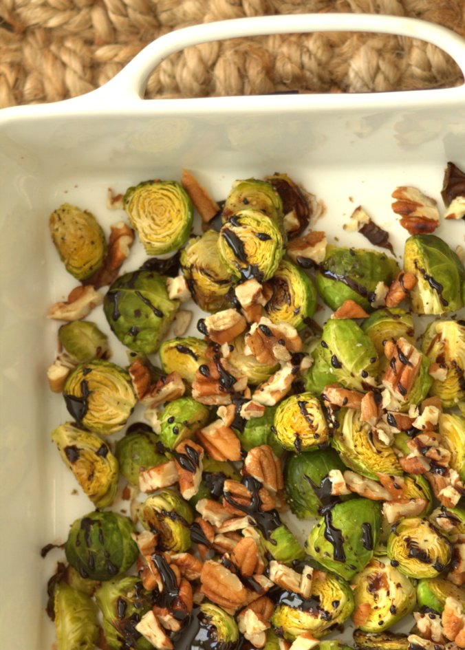 Balsamic Brussels Sprouts | www.thebahamallama.com