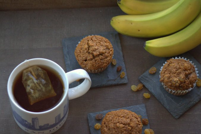 Ina Garten's Chunky Banana Bran Muffins make a comforting treat for a winter morning!