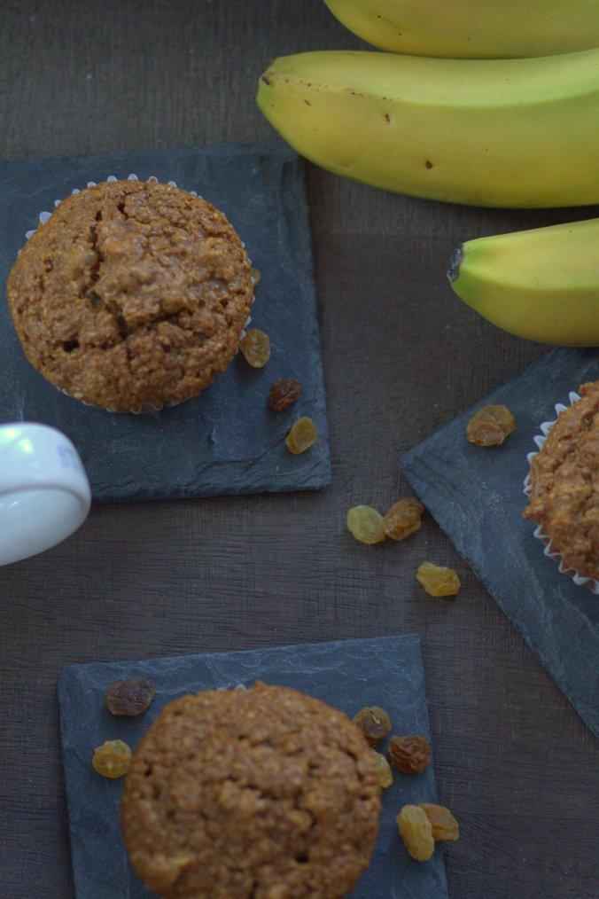 Banana Bran Muffins | www.thebahamallama.com