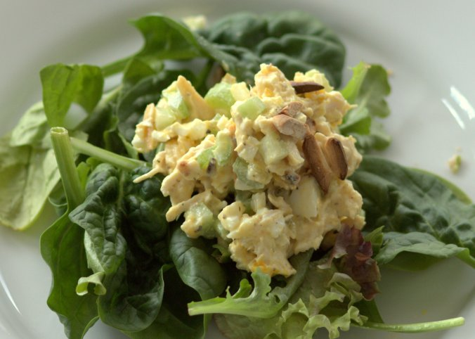 My Mom's Chicken Salad | www.thebahamallama.com