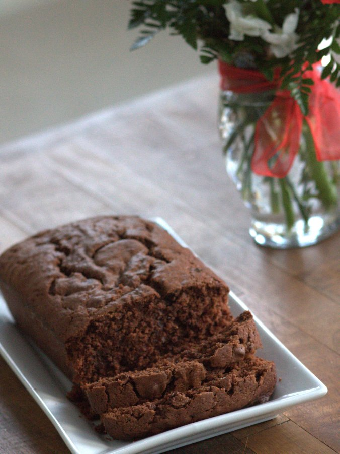 The most amazingly satisfying and indulgent chocolate pound cake I've ever encountered!