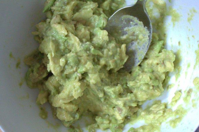 A creamy avocado spread for toast!
