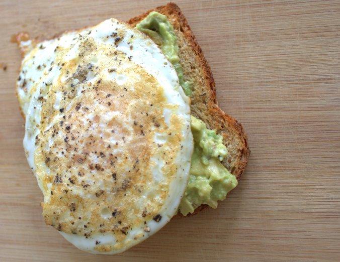 Avocado Toast with Eggs   www.thebahamallama.com