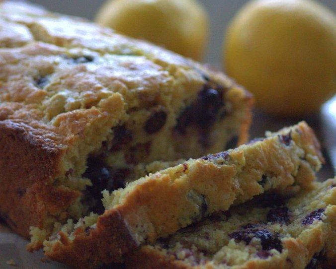 Lemon Blueberry Muffin Bread | www.thebahamallama.com