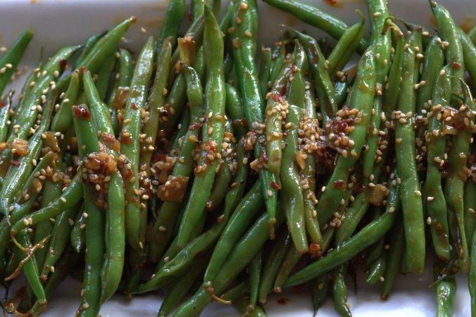 Quick Asian Style Sauteed Green Beans | www.thebahamallama..com