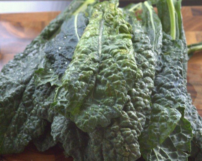 Kale Salad with Cashew Butter Vinaigrette