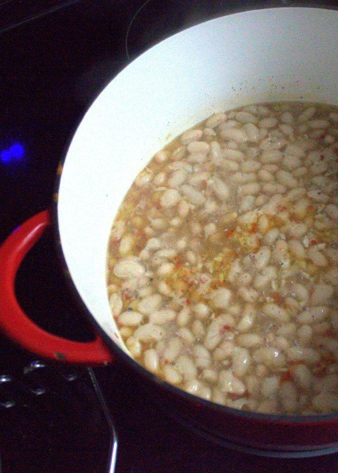 Ina Garten's Beans and Greens | www.thebahamallama.com